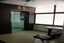 The entrance gate of SS Coaching
